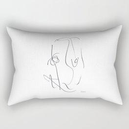 Demeter Moji d9 5-2 w Rectangular Pillow