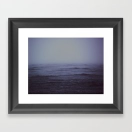 Waves III Framed Art Print