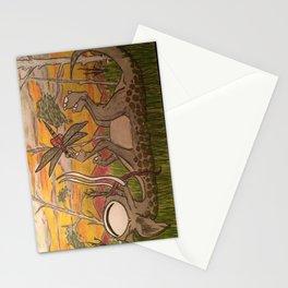 Playful Monster Stationery Cards
