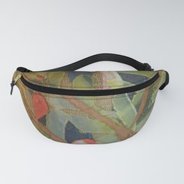 Exotic abstract patterns of nature Fanny Pack