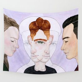 Bisexual Invisibility #2 Wall Tapestry