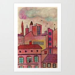 Toulouse Art Print