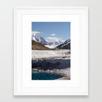 alaska Framed Art Prints featuring Alaska by L McLeod