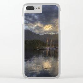 The Quiet Sunrise - Tofino BC Clear iPhone Case