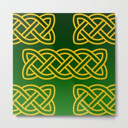 Celtic Knots Metal Print