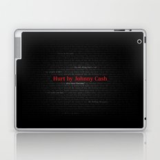 Hurt by Johnny Cash Laptop & iPad Skin