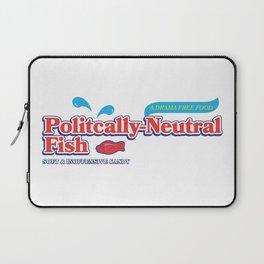 Politically Neutral Fish Laptop Sleeve