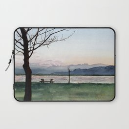 at Lake Constance Laptop Sleeve
