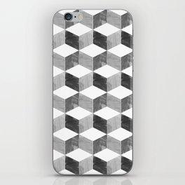 modern cubic iPhone Skin