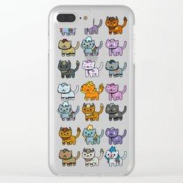 Neko Atsume Feral Druid all races Clear iPhone Case