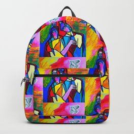 The White Dove (ORIGINAL SOLD)  Backpack
