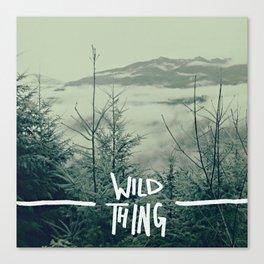 Wild Thing: Skagit Valley, Washington Canvas Print