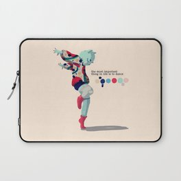 I'll dance all my life Laptop Sleeve