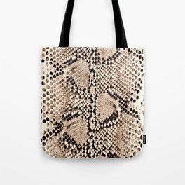 Snake skin art print Tote Bag