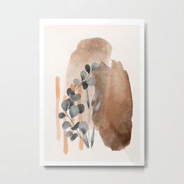 Modern Abstract Art V Metal Print