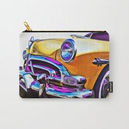 1951 Yellow Hudson Hornet Carry-All Pouch