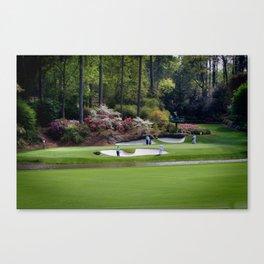 Augusta Georgia Amen Corner Golf Series Sets Canvas Print
