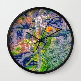 Tropical Garden Wall Clock