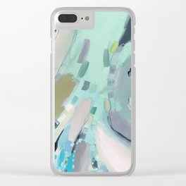"""beach therapy"" Clear iPhone Case"
