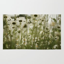 white daisies :) Rug