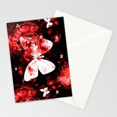 Butterfly Splatter Stationery Cards
