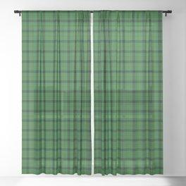 Kincaid Tartan Plaid Sheer Curtain