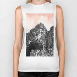 Part of Angkor Wat with candy Biker Tank