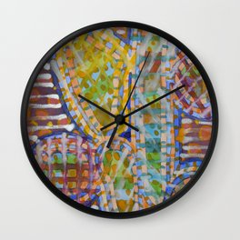 Cacti-like Wall Clock
