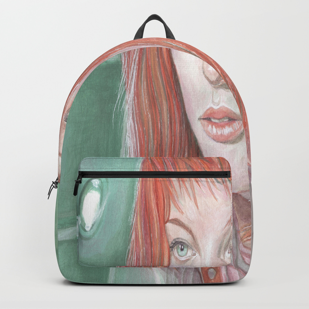 Leeloo - The Fifth Element Backpack by Breakthemouldb3 BKP8817740