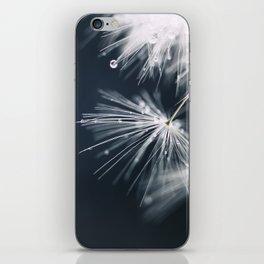 dandelion white iPhone Skin
