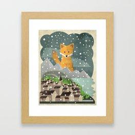 Benevolent Fox  Framed Art Print