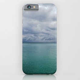 Sunny Thunderstorm iPhone Case