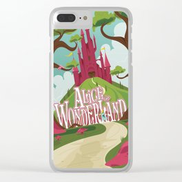 Alice in Wonderland - Lewis Carroll Clear iPhone Case