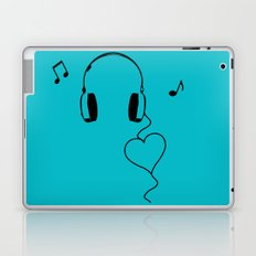 Music Love Laptop & iPad Skin