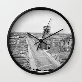 Charleston, S.C. 1865 Wall Clock