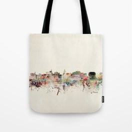 madison skyline Tote Bag
