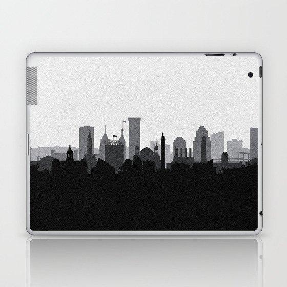 City Skylines: Baltimore (Alternative) Laptop & iPad Skin
