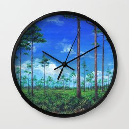 Florida Wetlands Wall Clock
