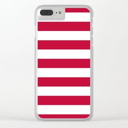 United States (Betsy Ross) Flag Clear iPhone Case