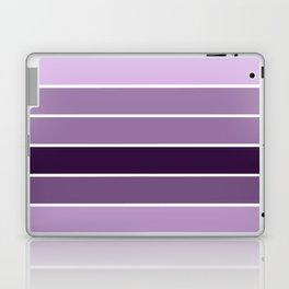 Lavender Purple Stripes Laptop & iPad Skin