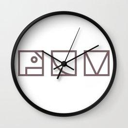 People Like Me Wall Clock