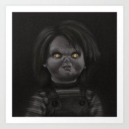 Chucky Art Print