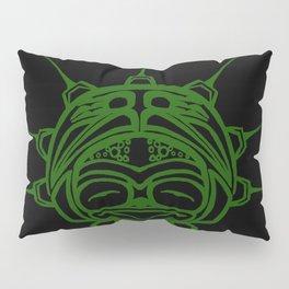 Grass Frog Ink Pillow Sham