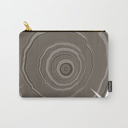 Cross Section Carry-All Pouch