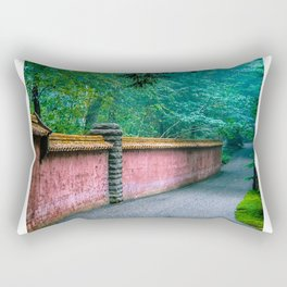 Abby Aldrich Rockefeller Garden Rectangular Pillow
