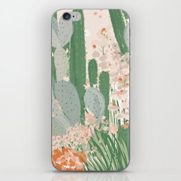 cactus garden iPhone Skin