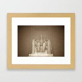 Lincoln Memorial :: Washington DC Framed Art Print