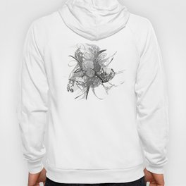 50 shades of lace Grey Silver Hoody