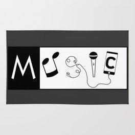 Musical word Rug