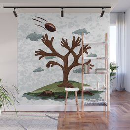 Player tree Wall Mural